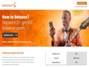 Betsson apuestas deportivas Screenshot