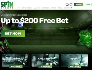 Spin palace sports – Beneficios de apostar Screenshot