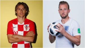 el partido Croacia vs Inglaterra.