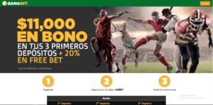 Ganabet: Mejor en apuestas deportivas en México Screenshot