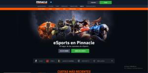 Pinnacle eSports Screenshot